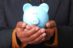 Safe Piggy Bank Royalty Free Stock Photo