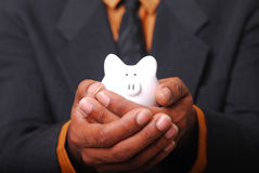 Safe Piggy Bank Royalty Free Stock Image