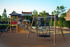 Safe playground for young children Royalty Free Stock Image