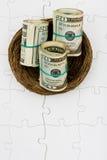 Safe Retirement Savings Royalty Free Stock Image