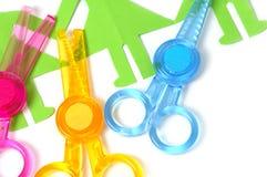 Safe Scissors For Children Royalty Free Stock Photos