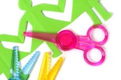 Safe Scissors For Children Stock Photos