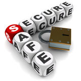 Safe and secure Royalty Free Stock Photo