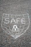 Safe shield Stock Photos