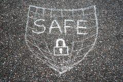 Safe shield Royalty Free Stock Photo