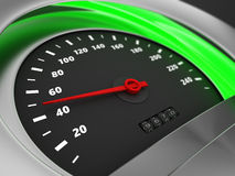 Safe speed Royalty Free Stock Images