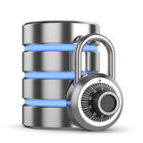 Safe storage concept Royalty Free Stock Photos