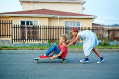 Safe Streets For Children Royalty Free Stock Photography