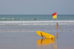 Safe Surfers Stock Images