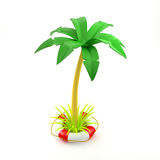 Safe tropical adventure Royalty Free Stock Photography