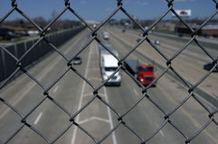 Safe from Truck Traffic Stock Photos