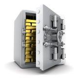 Safe und Gold Stockfotografie
