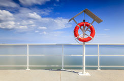 Safe vacation by the seaside Royalty Free Stock Photos