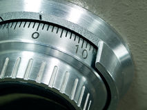 Safe Vault Combination Spinner Stock Photos