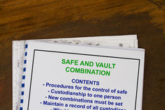 Safe and Vault Stock Photography