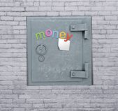 Safe in  wall Stock Photos