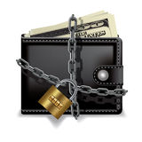 Safe wallet Stock Images