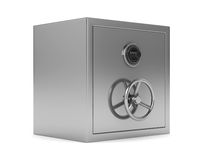Safe on white background. Isolated 3D Royalty Free Stock Photos