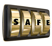 Safe Word Lock Dials Secret Security Safety Secured Password Acc Stock Photography