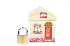 Safe your house Stock Photography
