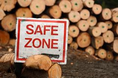 Safe zone Stock Images