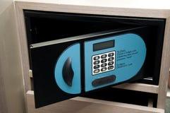 Safebox dans l'hôtel Photographie stock libre de droits