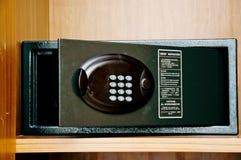 Safebox im Hotel Stockfoto
