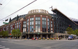 Safeco Feld - Seattle-Seemänner lizenzfreies stockbild