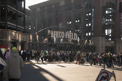Safeco Field Left Field Entry game day Stock Photos