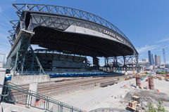 Safeco Field in Seattle stock photography