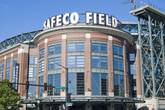 Safeco Field, Seattle. The front entrance to Safeco Field in Seattle, home of the Seattle Mariners Royalty Free Stock Photography