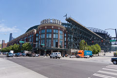 Safeco Field Stadium Seattle Royalty Free Stock Photos