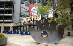 Safeco Field Turnstiles - Seattle Mariners Stock Images