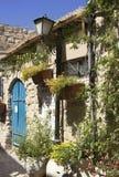 Safed的老石房子 免版税库存照片