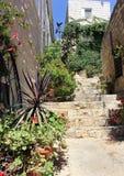 Safed,上面的内盖夫加利利,以色列 库存照片