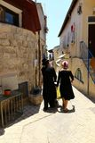 Safed - the city of Kabbalists and artists royalty free stock images