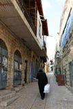 Safed - die Stadt von Kabbalists und von Künstlern stockfotografie