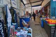 SAFED, ISRAËL - markt stock fotografie