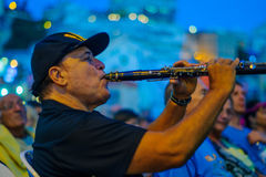 Klezmer Festival 30th in Safed Tzfat, Israel Stock Photography