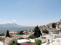 Safed le panorama 2008 Image stock