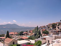 Safed panorama en juin 2008 Image stock