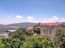Safed panorama en juin 2008 Photo stock