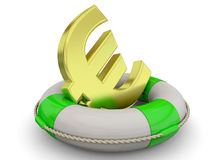 Safely Money Concept - 3D Royalty Free Stock Image