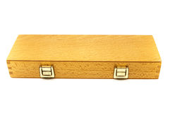 Safely wooden box Stock Photography