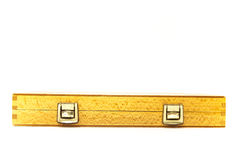 Safely wooden box Royalty Free Stock Photography