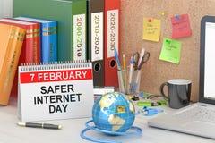 Safer Internet Day concept Stock Image