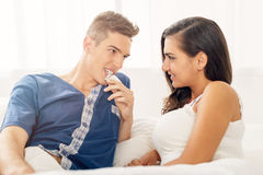 Safer Sex Stockfoto