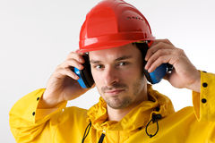 Safer work Stock Image