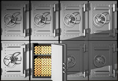 Safes Stock Image