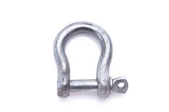 Safety anchor shackle Royalty Free Stock Image